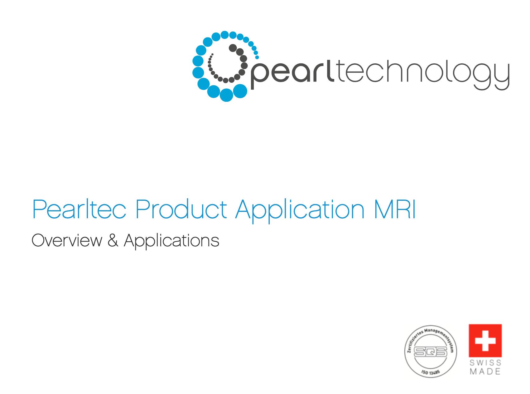 MRI-Product-Application